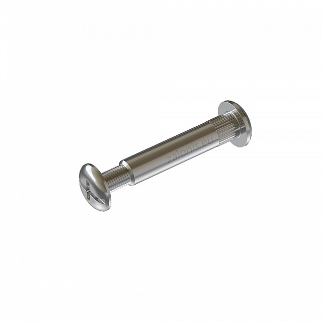FURNITURE CONNECTOR M6 46-55mm / NICKEL